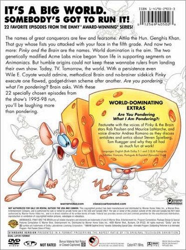 Pinky and the Brain DVD cover