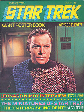 Star Trek Giant Poster Book: Voyage Eleven , Barlow, Ron (editor)