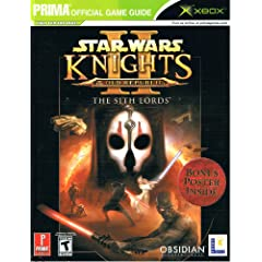 Star Wars: Knights of the Old Republic II: The Sith Lords: Prima Official Strategy Guide