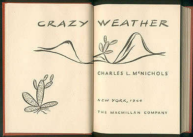 Crazy Weather, McNichols, Charles L.