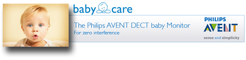 Philips AVENT SCD530 DECT Baby Monitor with Temperature and Humidity Sensors