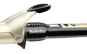 The BaByliss 2289U Glamour Waves Curling Tong has 4 heat settings for every hairy type