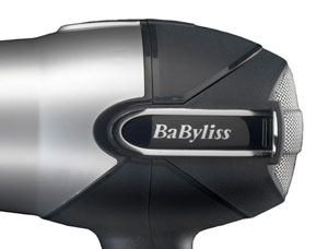 The BaByliss 5538U Turbo Power 2200W Hair Dryer has a 2200W dryer