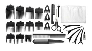 Hair Cutting Kits : BaByliss For Men 7436DU 30 Piece Professional Home Hair Cutting Kit