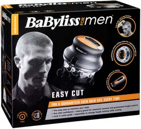 BaByliss For Men Easy Cut Hair Clipper gives you an even cut, every time
