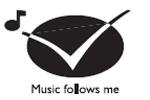 Philips WAC7500/05 Music Follows me Feature