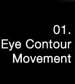 Three Point Massage Step 1. Eye Contour Movement