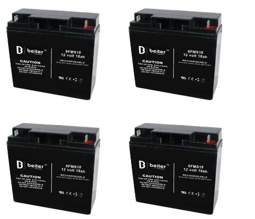 X-Treme Xb-420M Electric Scooter Beiter Dc Power Replacement Batteries