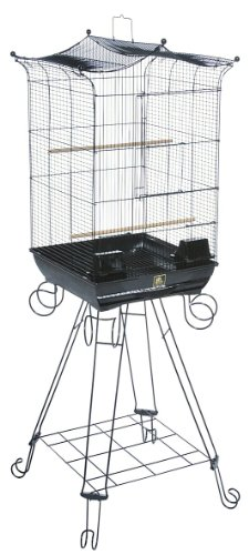 Image of Bird Supplies Penthouse Suites Crown Roof Bird Cage (PP-261)