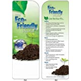 Bookmark My Eco-Friendly World Bookmark Trade Show Giveaway