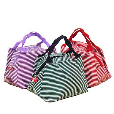 Zcl Portable Insulated Lunch Bag (Assorted Colors) , Purple